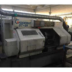 Tornio Orizzontale GOODWAY GT 25 Fanuc 18T (2004) - usato